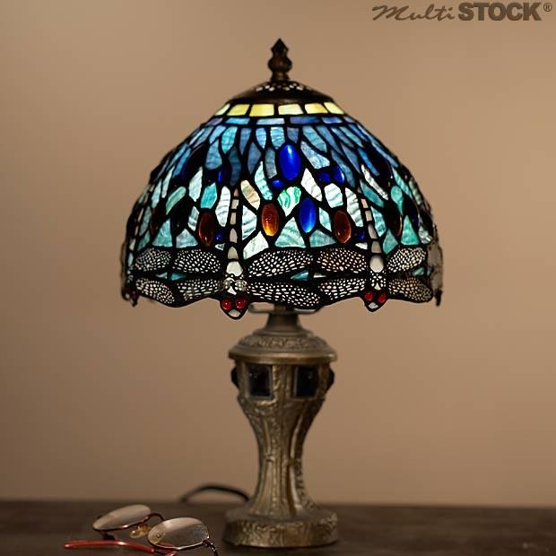 lampe tiffany libelulle bleu 9891 les plus belles lampes tiffany. Black Bedroom Furniture Sets. Home Design Ideas