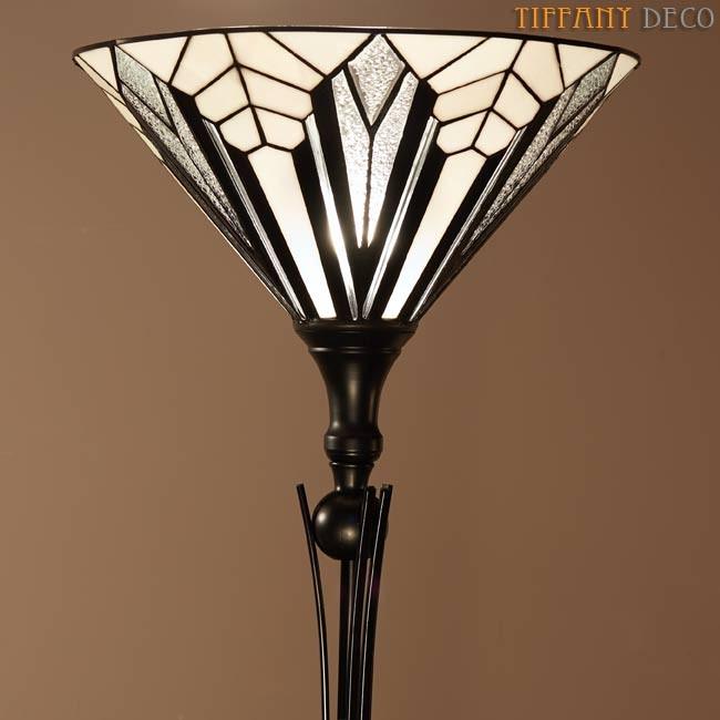 Lampadaire Art Déco B&W   Les plus belles Lampes Tiffany