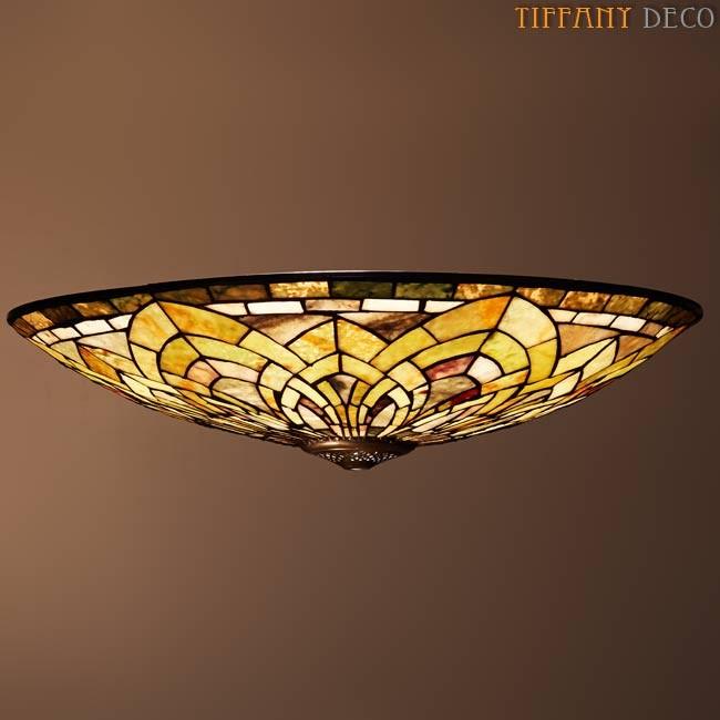 lampe suspendue plafonnier tiffany motif art d co les plus belles lampes tiffany. Black Bedroom Furniture Sets. Home Design Ideas