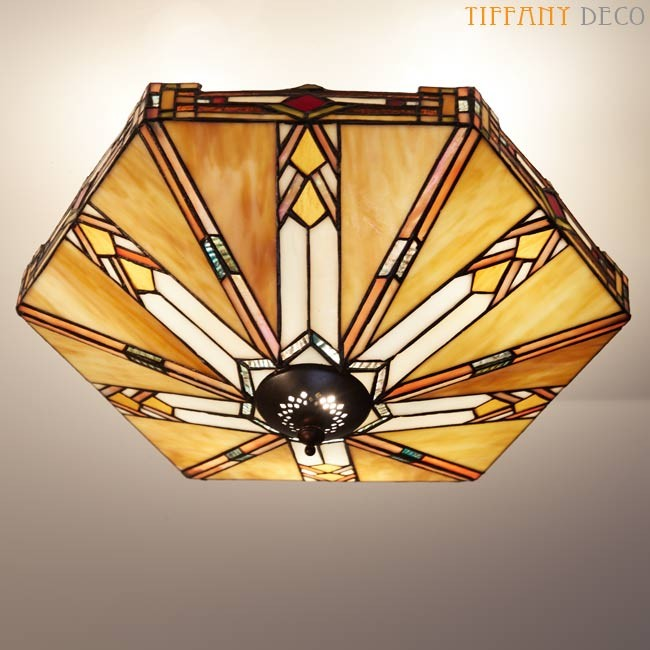 tiffany plafonnier art deco plafondlampen tiffany. Black Bedroom Furniture Sets. Home Design Ideas