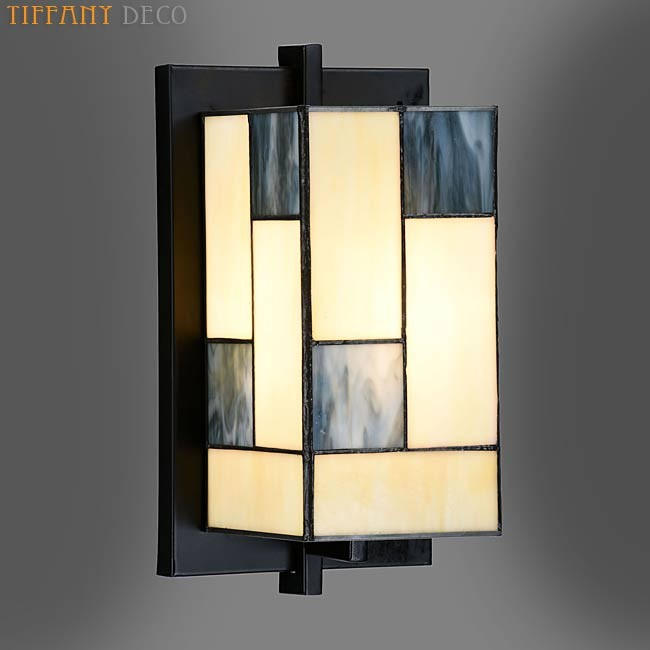 tiffany wandlamp art d co mondriaan uw tiffany lampen. Black Bedroom Furniture Sets. Home Design Ideas