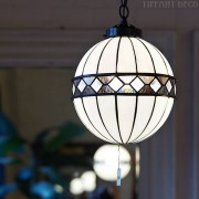 Tiffany hanglamp Fargo Bol Large