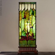 Vierkante Tiffany Lamp Libellen Medium