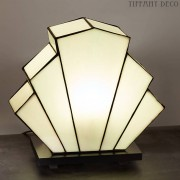Tiffany Lamp B&W Art Déco Small