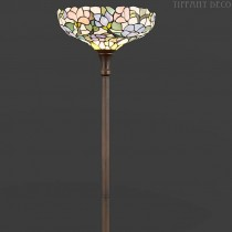 Tiffany Vloerlamp Bloemen