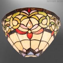 Tiffany wandlamp Bloemenkrans
