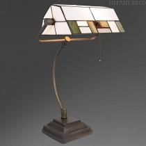Tiffany Bureaulamp  Blokmotief