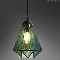 Tiffany hanglamp Mini Arata Green