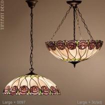 Tiffany hanglamp Rosetta