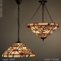 Tiffany hanglamp Clematis