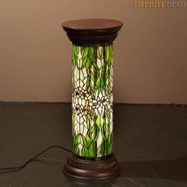 Tiffany zuil Bloemen