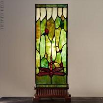 Vierkante Tiffany Lamp Libellen Medium