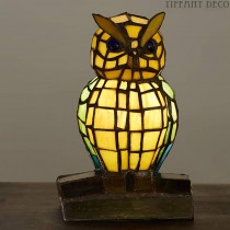 Tiffany lampje Uil