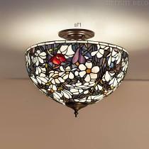 Tiffany Plafondlamp Magnolia Medium