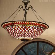 Tiffany hanglamp Art Déco