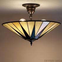 Tiffany Plafondlamp Dark Star