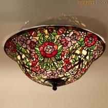 Tiffany Hanglamp Bloemen Large