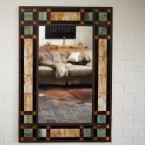 Spiegel in Tiffany glas Art-Déco