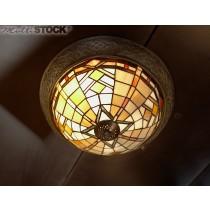 Tiffany Plafonnier Art Deco