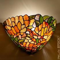 Tiffany wandlamp Kleurenpracht