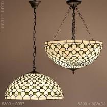 Tiffany hanglamp Clematis Large