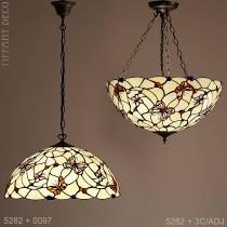 Tiffany hanglamp Vlinders Large