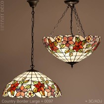 Tiffany hanglamp Country Border Large