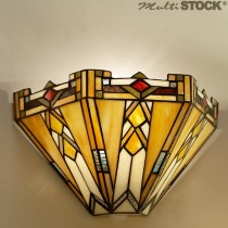 Tiffany wandlamp Art Déco