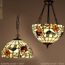 Tiffany hanglamp Butterfly Small