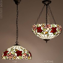 Tiffany hanglamp Country Border Medium