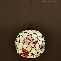 Tiffany hanglamp Bol Vlinders