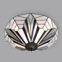Tiffany Plafondlamp Art Déco B&W