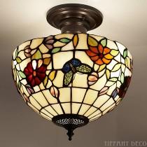 Tiffany Plafondlamp Vlinders Small