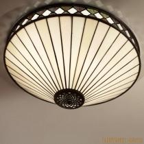 Tiffany Plafondlamp Fargo Large