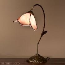 Tiffany Lamp Roze bloem