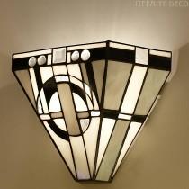 Tiffany wandlamp Metropolitan