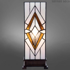 Vierkante Tiffany Lamp Art Déco B&B Medium